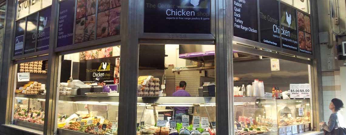 Contact The Corner Chicken Shop