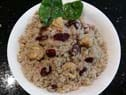 Cranberry and chestnut stuffing