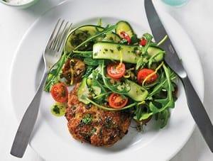 Recipes-Clean-Living-Cookbook-Chicken-Burger-450x340